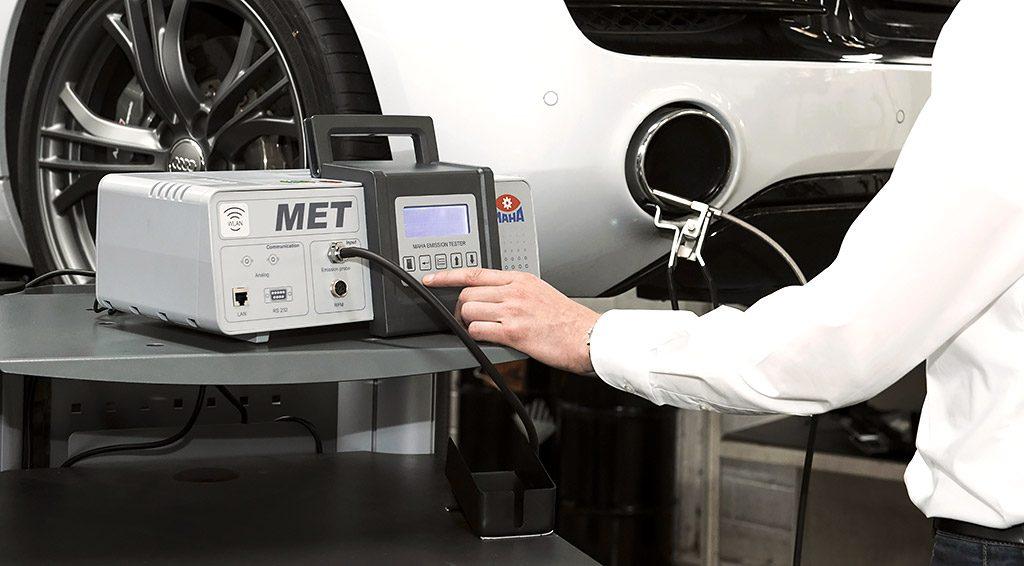 Avgasmätning med MET 6.x