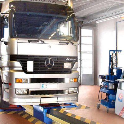 MBT 7250 Bromsprovare Mercedes Benz
