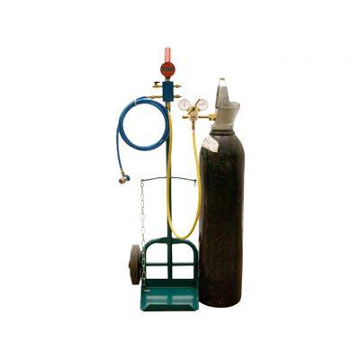 Läcksökning AC med kvävgas