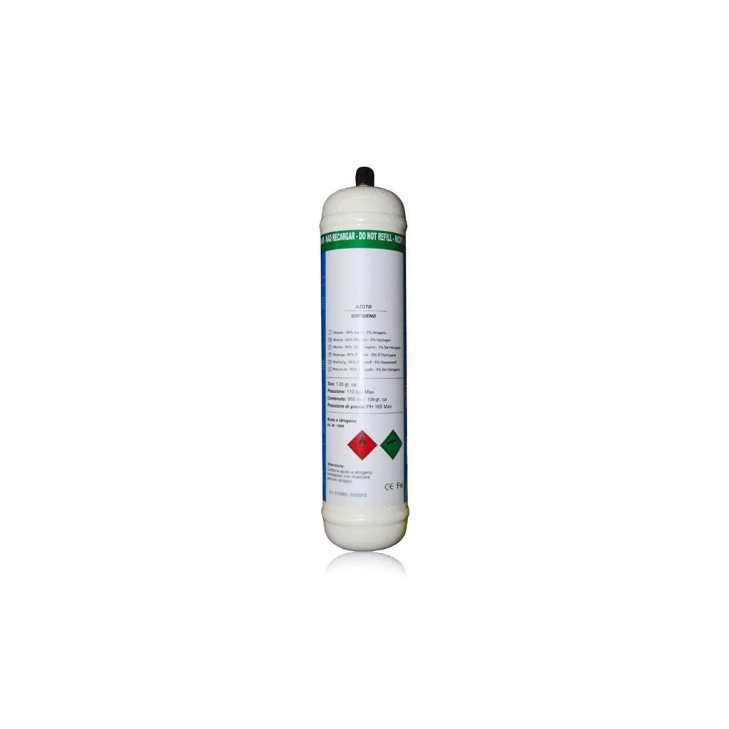 Gasflaska Kvävgas-vätgas blandning