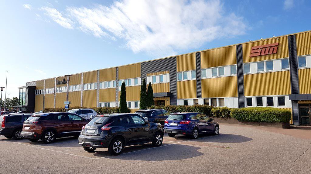 SUN Maskin & Service huvudkontor Karlstad