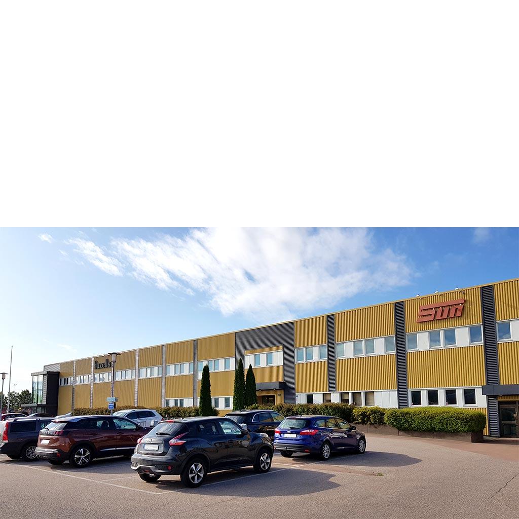 SUN Maskin & Service huvudkontoret i Karlstad